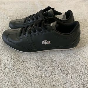Lacoste black sneakers 👟